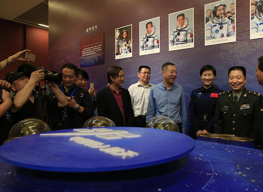 Exhibition showcases China's achievements in space